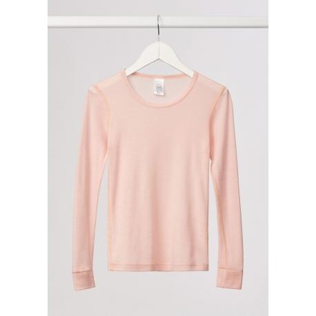 Merino vilnos apatiniai marškinėliai mergaitėms