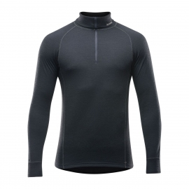 Devold Duo Active marškinėliai aukštu kaklu su užtrauktuku vyrams