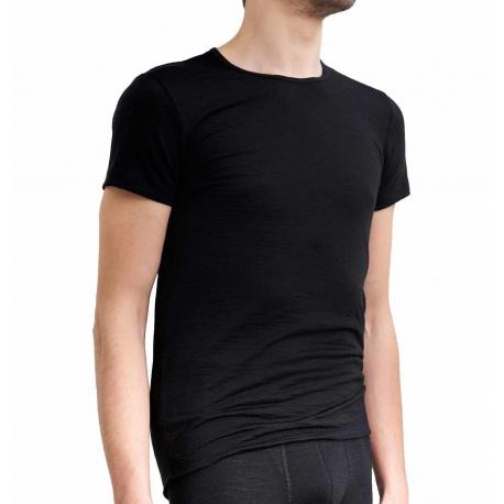 Švelnūs ir šilti Merino vilnos vyriški marškinėliai