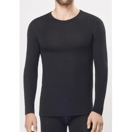 Vyriški marškinėliai ilgomis rankovėmis iš vilnos